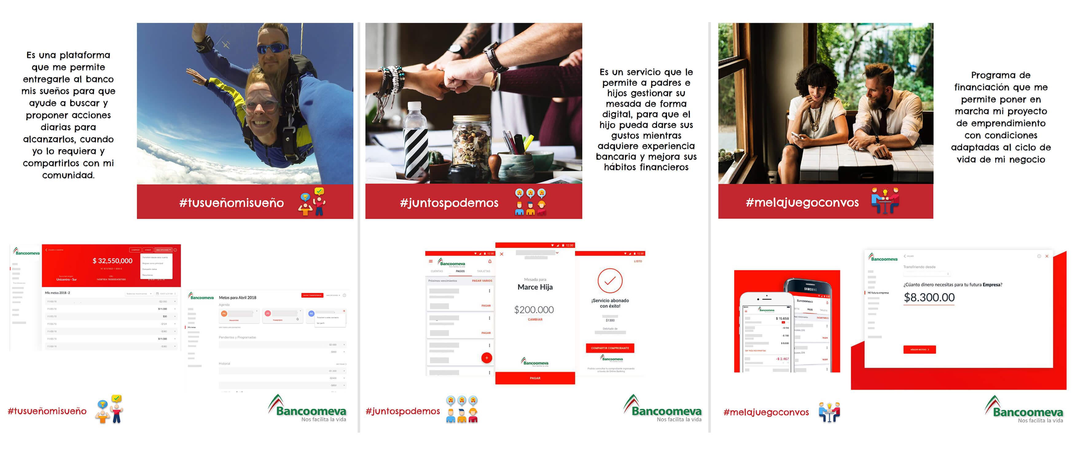 bancoomeva-service-concept